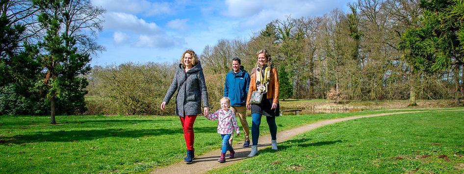 Samen wandelen in de natuur van Limburg