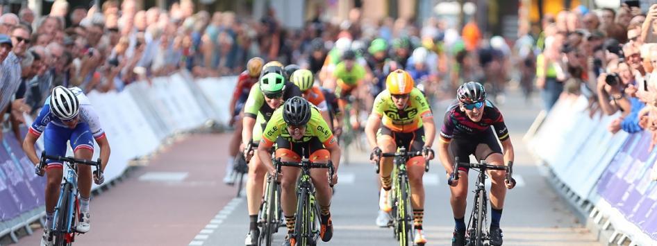 Holland Ladies Tour wielerkoers in Limburg
