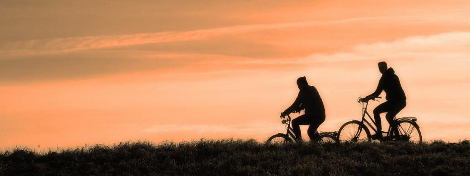 Avondrood fietsen