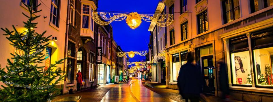 Weert centrum winkelen kerst