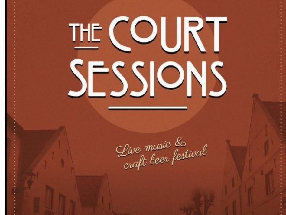 Poster Court Sessions popfestival